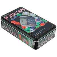 """Набор для игры в """"Покер"""", (100 фишек), коробка"""