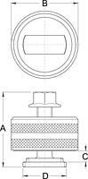 Инструмент для снятия каретки BB30 - 1625/2 UNIOR, фото 2