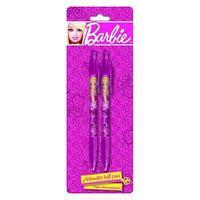 Ручки автомат, шариковые, цвет пасты синий, 2 шт. Барби