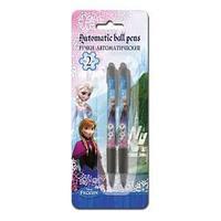 Ручки автоматические шариковые, цвет пасты синий, 2 шт. Frozen