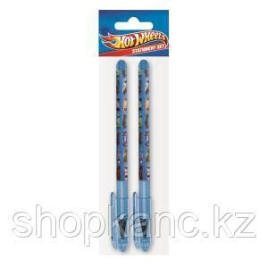Ручки шариковые, цвет пасты синий, 2 шт. Hot Wheels