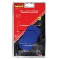 """Штемпельная подушка сменная """"Proff"""" для моделей 8010,8015,8020,9040,9045 синяя(7/9045-bl)"""