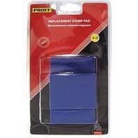 """Штемпельная подушка сменная """"Proff"""" для моделей8027,8028,8727,9027 синяя(7/9027-bl)"""