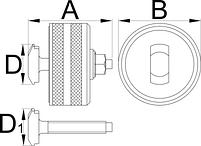 Инструмент для снятия каретки BB90 - 1625/2BB90 UNIOR, фото 2