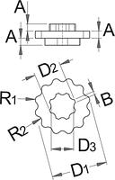 Инструмент для пластиковых креплений Shimano - 1609.1/2 UNIOR, фото 2