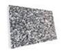 Плита из гранита среднезернистого, цвет серый
