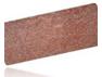 Плита из гранита Порфирит, цвет красный