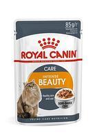 Royal Canin Intense Beauty в соусе, влажный корм для кошек для поддержания красоты шерсти