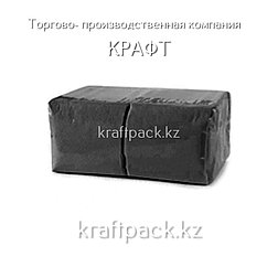 "Салфетки ""Soft"" 24х24 1 сл. ЧЕРНЫЕ (400шт/уп)(18уп/кор)"