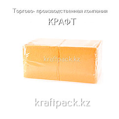 """Салфетки """"БигПак"""" 24х24 Желтые 1сл. (400шт/уп)"""