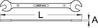 Ключ педальный - 1610/2 UNIOR, фото 2