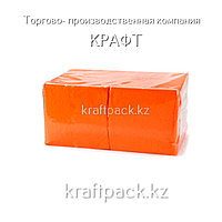 "Салфетки ""БигПак"" 24х24 Оранжевые 1сл. (400шт/уп)"