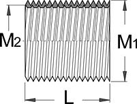 Приспособление для выравнивания штифта педали, левое, набор 10 шт. - 1695.4 UNIOR, фото 2