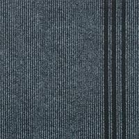 Ковровая дорожка на резиновой основе Sintelon 702 (1м) серая