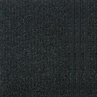Ковровая дорожка на резиновой основе Sintelon 766 (1,2) черная