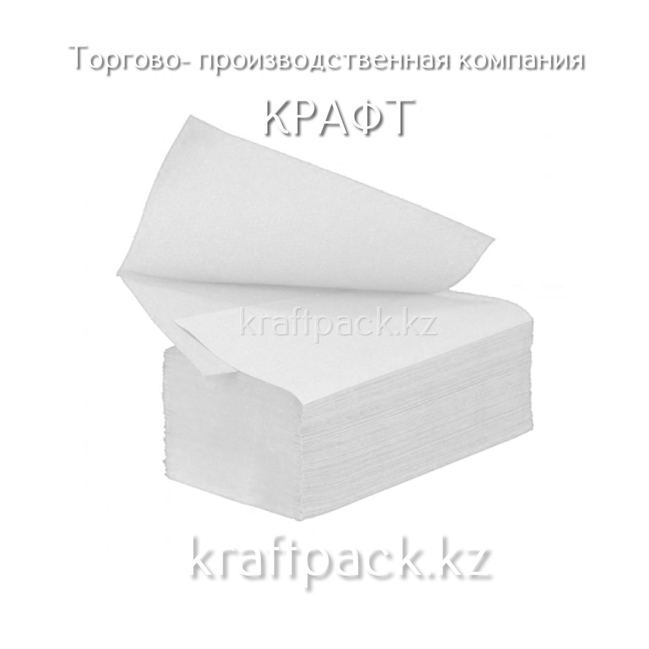 """Полотенца V - слож. 1сл """"Soft"""" 23х22 (200л/уп)(20уп/кор)"""