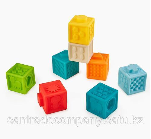 Кубики конструктор Happy Baby Funny Blocks