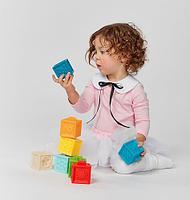 Кубики конструктор Happy Baby Funny Blocks, фото 3