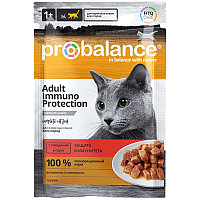 ProBalance Adult Immuno Protection для иммунитета, с говядиной в соусе, пауч 85гр.