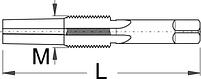 Метчик для педалей - 1695.1AL UNIOR, фото 2