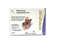 Stronghold Стронгхолд 12% 0,25мл (30мг селамектина) для собак (2,1 - 5кг) цена за 3 пипет., 1упаковка