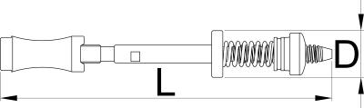 Рама приспособления для торцевой обработки (цекования) кареточной трубы BSA и ITA - 1699.2/4 UNIOR