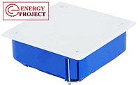 Коробка распаячная для полых стен с металическими лапками и с крышкой УПрк 110/45 .2.2., фото 2