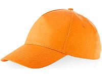 Бейсболка Memphis C 5-ти панельная, оранжевый