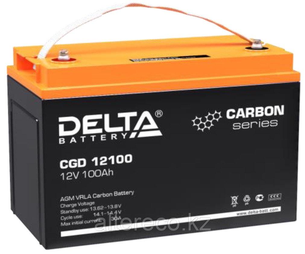 Карбоновый аккумулятор Delta CGD 12100 (12В, 100Ач)