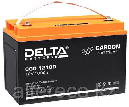Карбоновый аккумулятор Delta CGD 12100 (12В, 100Ач), фото 2