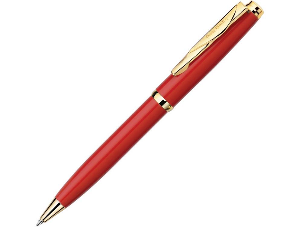 Ручка шариковая Gamme. Pierre Cardin, красный/золотистый - фото 1