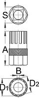 Съёмник звёздочки для Shimano - 1670.1/4 UNIOR, фото 2