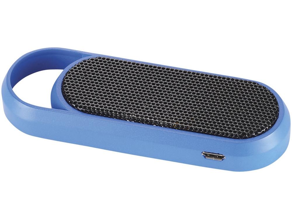 Портативная Bluetooth колонка, ярко-синий - фото 3