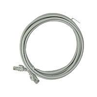 Shelbi Коммутационный шнур (патч-корд), кат.5Е UTP, LSZH, 3м, серый