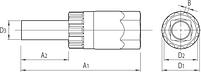 Инструмент с блокировочным кольцом для кассеты с 12 мм направляющим штифтом - 1670.9/4 UNIOR, фото 2