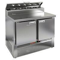 Стол холодильный для пиццы Hicold PZE2-11/GN (5x1/6H)