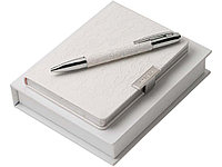 Подарочный набор Michelle: дизайнерский блокнот А6, шариковая ручка. Nina Ricci (Ou)