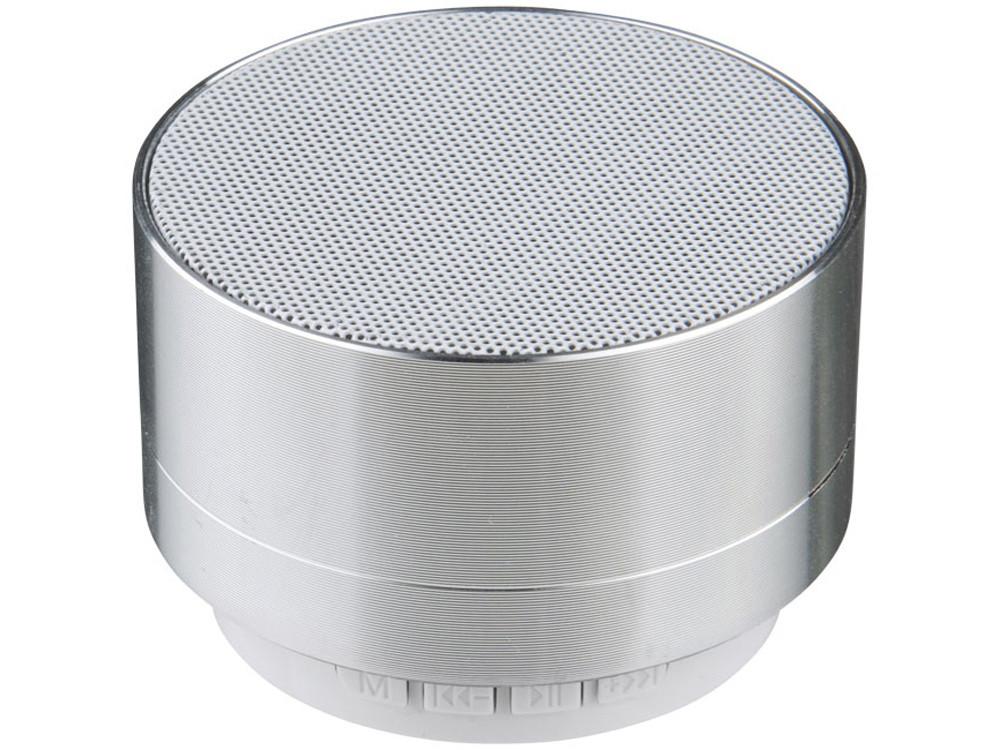 Цилиндрический динамик Bluetooth®, серебристый - фото 1