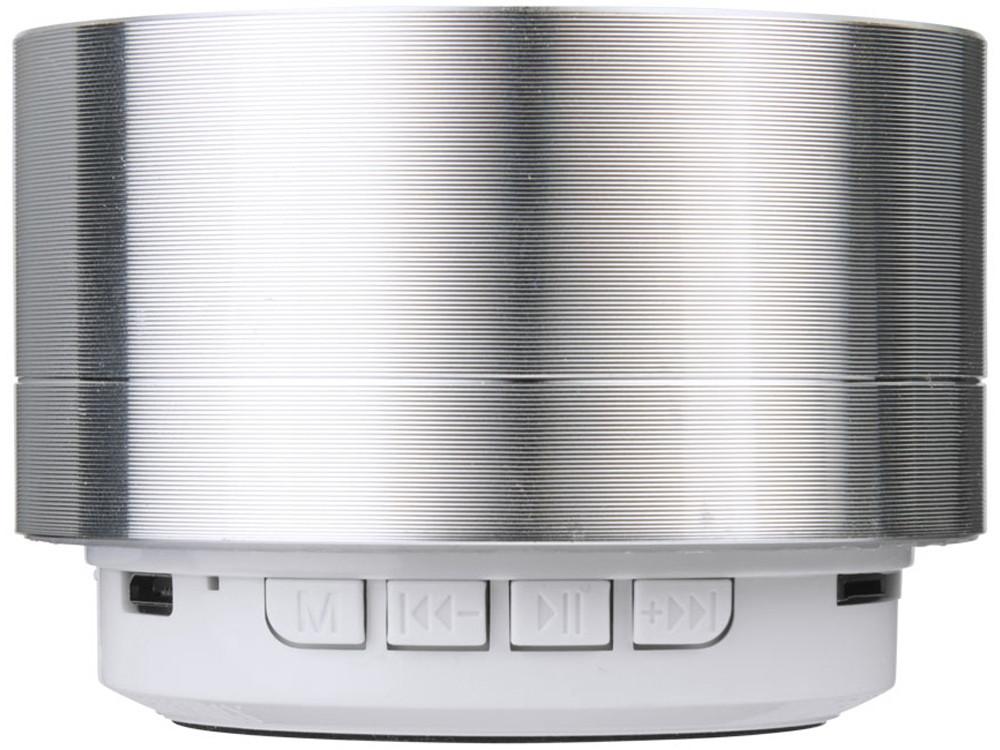 Цилиндрический динамик Bluetooth®, серебристый - фото 2