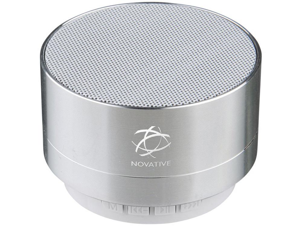 Цилиндрический динамик Bluetooth®, серебристый - фото 6
