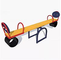 """Качалка-балансир """"Одинарная"""" для детей, желтая"""