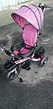 Трехколесный велосипед с родительской ручкой 6018, фото 7