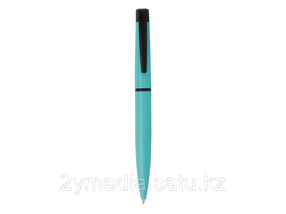 Ручка шариковая Pierre Cardin ACTUEL c поворотным механизмом, тиффани/черный - фото 2