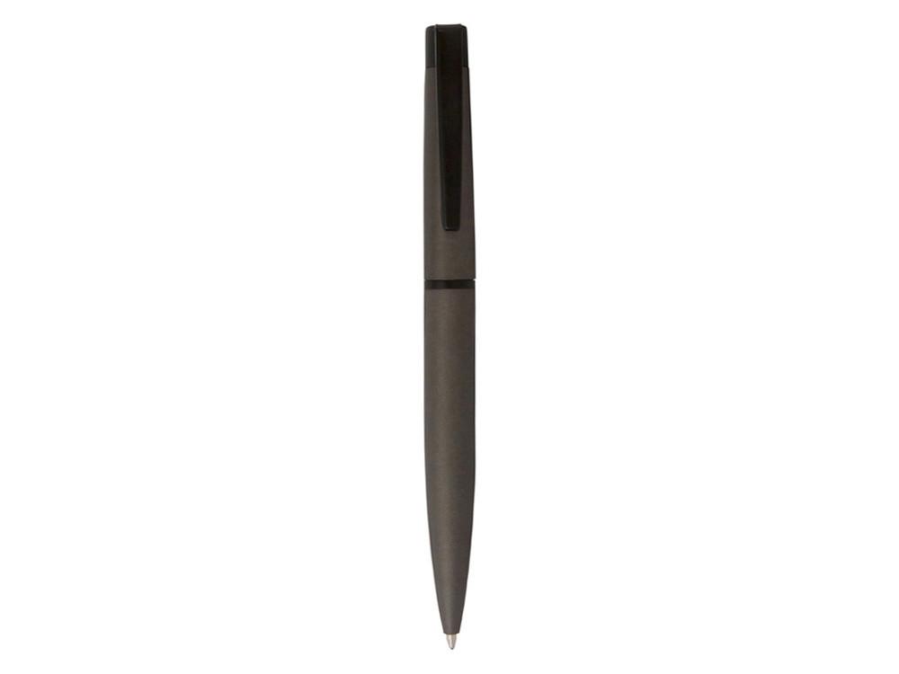 Ручка шариковая Pierre Cardin ACTUEL c поворотным механизмом, серый/черный - фото 2