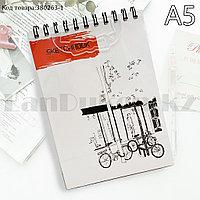 Скетчбук для зарисовок классический с белой бумагой на спирале SketchBook Big Role 1 148х210 мм 40 листов А5