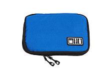 Органайзер для зарядных устройств, USB-флешек и других аксессуаров, синий