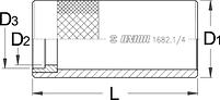 Направляющая к приспособлению для установки якоря - 1682.1/4 UNIOR, фото 2