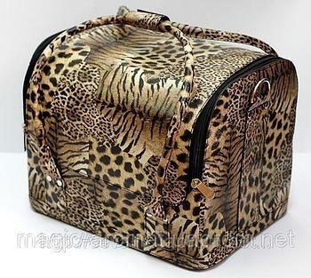 "Кейс-сумка  для мастера маникюра ""Леопард"""