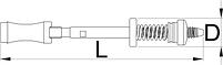 Рама приспособления для торцевой обработки (цекования) кареточной трубы BSA и ITA - 1699.2/4 UNIOR, фото 2