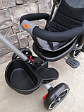 Трёхколёсный велосипед с поворотным сиденьем Т700, фото 7